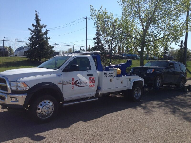 Reliable towing services in Edmonton and St. Albert